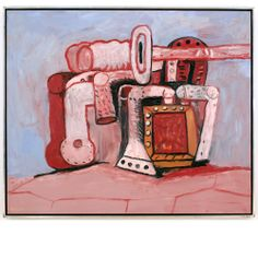 Philip GUSTON (American 1913-1980) oil on canvas 60 x 72 inches 152.5 x 183 cm