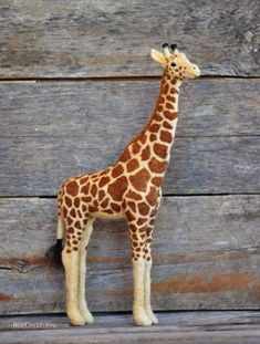 Needle Felted Giraffe by Teresa Perleberg