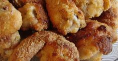 Oven Fried Chicken II Pan Fried Chicken, Baked Chicken Recipes, Turkey Recipes, Baked Roast, Fries In The Oven, Chicken Drumsticks, Chicken Thighs, Italian Seasoning