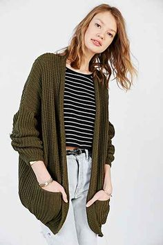 Silence + Noise Apple Cardigan - Urban Outfitters