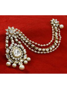 Jewellery & Watches Constructive Indian Bollywood Ethnic Green Matte Gold Pearl Jhumka Earring Fashion Jewelry Online Shop Costume Jewellery