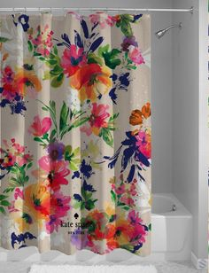 Hot Design Kate Spade Vintage Floral Custom Shower Curtain cheap and best quality. *100% money back guarantee