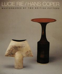 Lucie Rie - right and Hans Coper - left