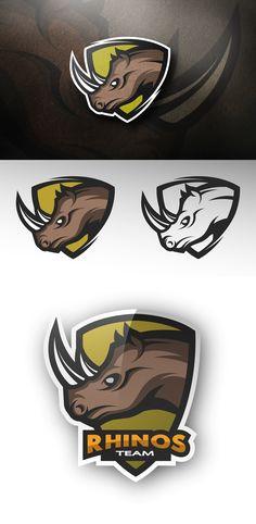 Rhino logo on Behance