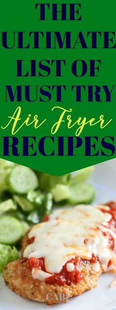 Hit your New Year's health goals with diet friendly air frying The Ultimate List Of Must Try Air Fryer Recipes Air Fryer Recipes Wings, Air Fryer Recipes Appetizers, Air Fryer Recipes Vegetables, Air Fryer Recipes Snacks, Air Fryer Recipes Low Carb, Air Fryer Recipes Breakfast, Air Frier Recipes, Power Air Fryer Recipes, Air Fryer Recipes Ground Beef