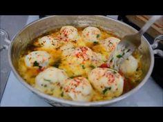 Turkish Breakfast, Cheeseburger Chowder, Potato Salad, Shrimp, Pasta, Brunch, Soup, Cooking, Eggs