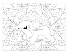 Free Printable Pokemon Coloring Page Rattata Visit Our For More Fun All Ages Adults And Children