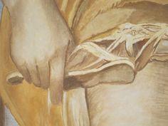 Anchise toglie il sandalo a Venere