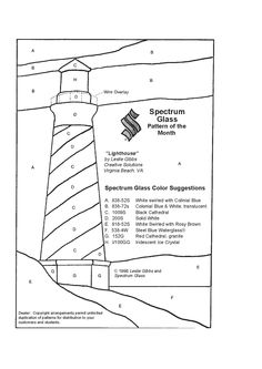 Lighthouse Coloring Page For Kids Pinterest Lighthouse