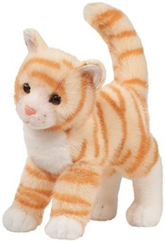 Tiffy Orange Tabby Cat By Douglas  Douglas makes a whole new breed of plush  from cute to realistic that adds fun and encourages creative play Part of  the ... 86e55745d97c