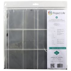 Project Life® Heidi Swapp™ Panoramic Photo Pocket PagesProject Life Heidi Swapp Panoramic Photo Pocket Pages