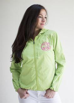 Monogrammed Spring Jacket | Jane