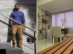 O arquiteto Márcio Barreto fundou uma empresa de arquitetura especializada em projetos econômicos, a partir de R$ 300, para a classe C.