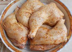 Pulpe de pui cu sos de mustar - Bunătăți din bucătăria Gicuței Turkey, Meat, Chicken, Food, Turkey Country, Meals, Yemek, Buffalo Chicken, Eten
