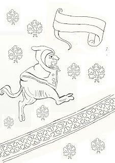 Albertus  Pictor figurer från Uppländska kyrkor att färglädda