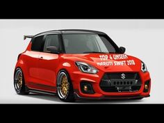 New Suzuki Swift, Suzuki Swift Sport, New Swift, Suzuki Cars, Sand Rail, Car Videos, Modified Cars, Amazing Cars, Old Cars