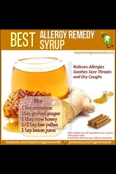 Best home made allergy remedies #allergy #remedies