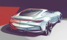 """163 Likes, 3 Comments - Patrick Macht Pause (@p_macht_pause) on Instagram: """"Had to transform the perspektive & proportions  #bmw #sketchbook #sketch #photoshop #cardesigner…"""""""