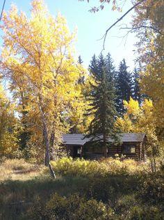 Maude Noble's Cabin, Grand Teton National Park