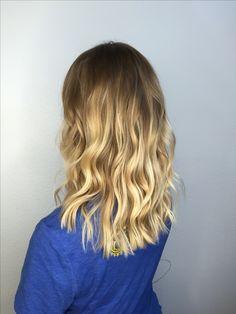 Honey Blonde balayage ❤
