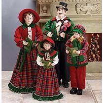 Caroling Family Figurines