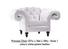 PrincessChair-White