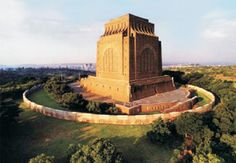 "The Voortrekker Monument: Dolos, koeksisters & SA pride - The monument, designed ""…to stand for 1000 years …"" was inaugurated on December 16 1949 to honour the less than 500 pioneers who held off an attack by 10000 of King Dingane's warriors in 1838. It became known as the Battle of Blood River & December 16 the Day of the Vow (now Reconciliation Day) because the Voortrekkers promised God that should they be victorious, they would observe the day as one of thanksgiving."
