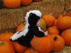 'Lil stinker #halloween #kids #orange