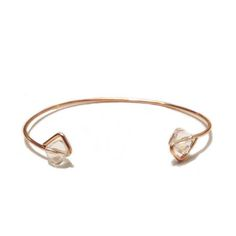 desideri design bangle bracelette swarovski crystals rose gold champagne color.jpg