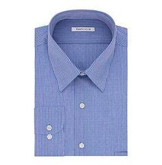 Van Heusen® Men's Regular Fit Print Stripe Dress Shirt