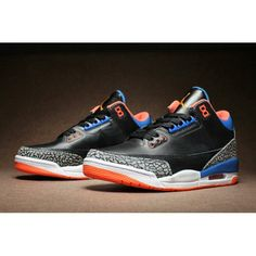 132b0d217baa air jordan 3 retro cemment black orange blue white black orange blue white  for mens clearance sale