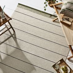 Belle Stripe Indoor & Outdoor Woven Rugs on Food52 Textile Business, Cooking Contest, Smoke Smell, Woven Rug, Jute Rug, Black Chalkboard, Washing Machine, Indoor Outdoor Rugs, Outdoor Area Rugs