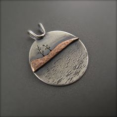 Together Trees Peninsula Pendant by BethMillnerJewelry on Etsy, $175.00