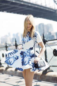 { floral dress }