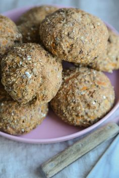 Fiberrundstykker - Marias Salt & Søtt Muffin, Salt, Food And Drink, Keto, Cookies, Baking, Fruit, Vegetables, Breakfast