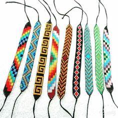 Loom Bracelet Patterns, Bead Loom Bracelets, Loom Patterns, Bead Crochet, Loom Beading, Akira, Seed Beads, Weaving, Jewelry Making
