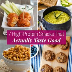 7 High-Protein Snacks That Actually Taste Good