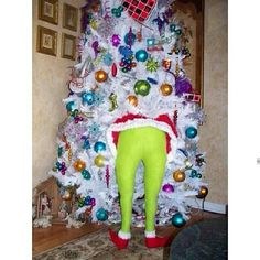 Grinch is stealing my tree