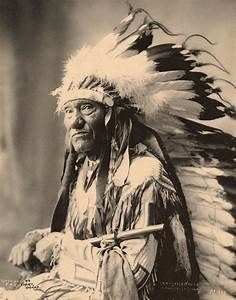 """Chief Shot-in-the-eye, 1899. """"Shot-in-the-Eye was an Oglala Sioux who fought in the Battle of ..."""