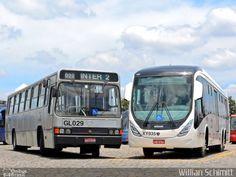 Ônibus da empresa Viação Cidade Sorriso, carro GL029, carroceria Marcopolo Torino 1989, chassi Mercedes-Benz O-371UP. Foto na cidade de Curitiba-PR por Willian Schimitt, publicada em 18/12/2016 17:24:11.