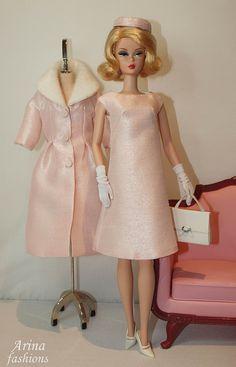 Custom order for Silkstone Barbie. OOAK outfit.