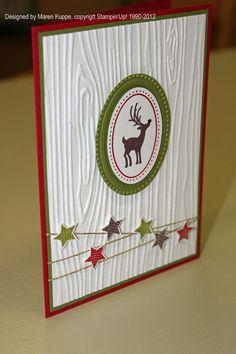 Maren's Stempelseite: Bilder vom Weihnachtsworkshop