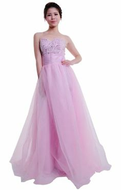 Moonar Chiffon a Line Prom Formal Gown Party Bridesmaid Dress