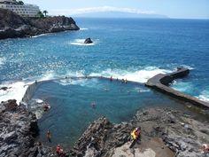 Eines der coolsten Erlebnisse auf #Teneriffa war es in einem Naturpool zu baden! 9 weitere Dinge, die man unbedingt machen sollte auf der Kanarischen Insel findet ihr auf meinem Blog. :)