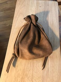 Extra Large Leather  Drawstring Pouch Bag, Distressed Leather Sack Bag, Mens Bag, Shirlbcreationstoo