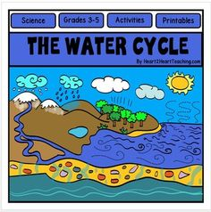 Water Cycle : Water Cycle : Water Cycle Activity Pack : Water Cycle Flip Up Book : Your students will love learning all about water and then creating a Water Cycle Flip Up Book!Water Cycle Flip Up Book is a creative way to teach about nature's greatest gift: water.