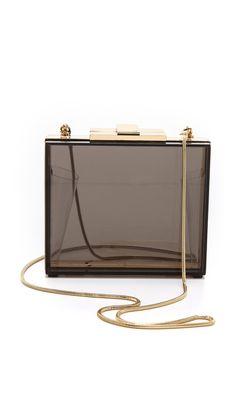 1069ee6b0ee Halston Heritage Square Box Minaudiere Novelty Bags, Halston Heritage, Cute  Bags, Handbag Accessories