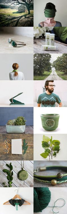 Winter Greens by Maria Bradley on Etsy--Pinned with TreasuryPin.com #trendsettingteam #chaoscurators #giftguide #etsyfind #shoponline