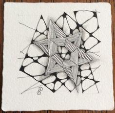 Zentangle by Dina. 'Nzeppel & Auraknot