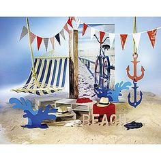 Dekoidee Hängematte Eine Auszeit nehmen und den Sommer am Sandstrand in der Hängematte genießen. Gestalten Sie eine Sommerdekoration mit Ankern, Watersplash und jede Menge Sand - eine Einladung zum Relaxen. http://www.decowoerner.com/de/Saison-Deko-10715/Sommer-10744/Komplette-Dekoideen-Sommer-11325/Dekoidee-Haengematte-640.855.00.html